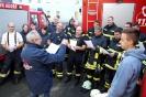 Michael Drescher dienstältester Adorfer Feuerwehrmann